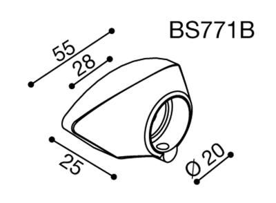 Rizoma Spiegeladapter Fuer Yamaha YZF R6 08::1510on 2015 Yamaha R1