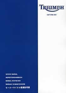 Werkstatthandbuch Speed Triple 1050 (bis 2010)