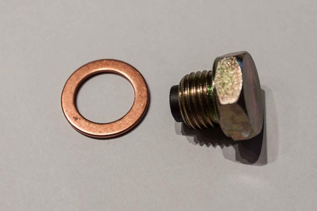 Magnet Ölablass-Schraube mit Dichtring