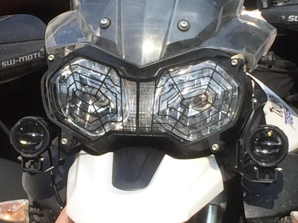 LED- Nebelscheinwerfer-Kit für Triumph Tiger 800 - T.M.-Accessories ...