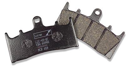Bremsbelag Lucas MCB 672 SH